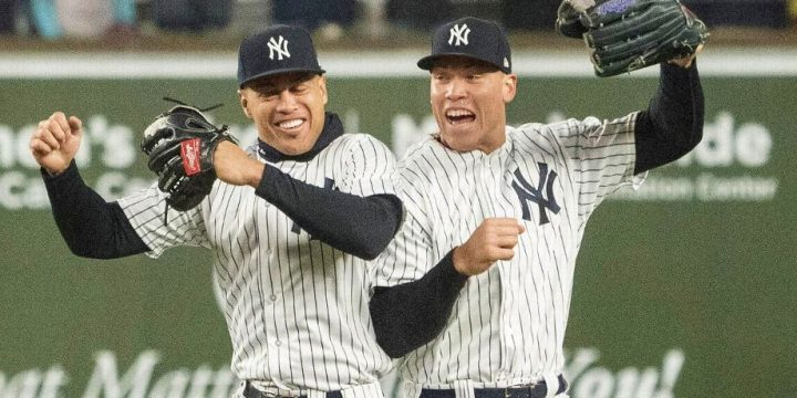 Stanton's and Judge's 2017 HRs, through the eyes of their teammates