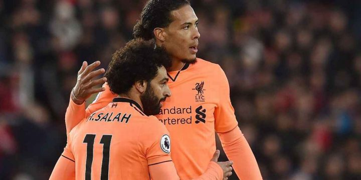 Liverpool's Mohamed Salah 'can beat anyone' on his day – VIrgil van Dijk