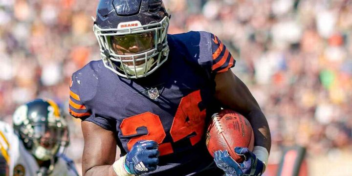 Jordan Howard: 'Comforting' that Bears have no plans to trade me