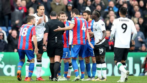Mo Salah hands Liverpool win, Palace fume as Mane escapes red