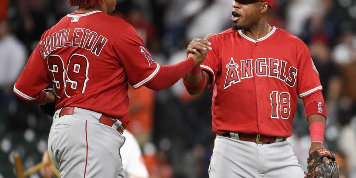 Skaggs dazzles, Angels beat Astros 2-0