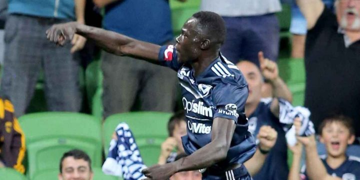 Kenny Athiu rewarding Melbourne Victory for their patience