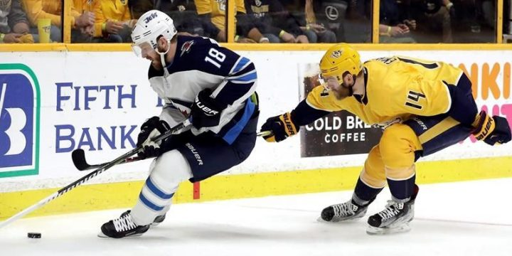 Kyle Connor leads the way as Jets beat Predators 6-2 to take 3-2 series lead