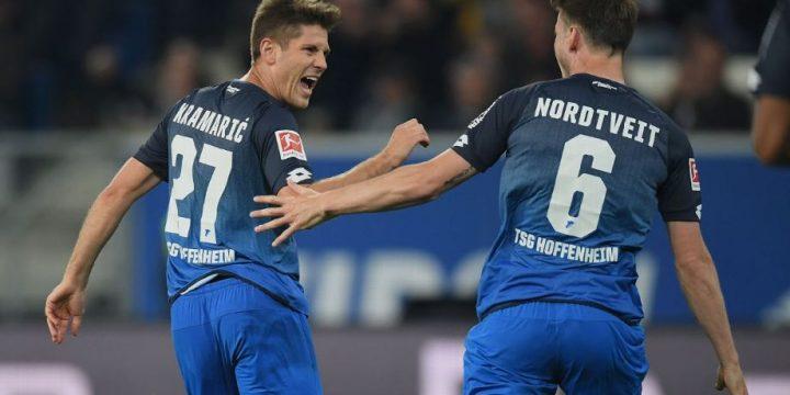 Andrej Kramaric hat trick lifts Hoffenheim into top four