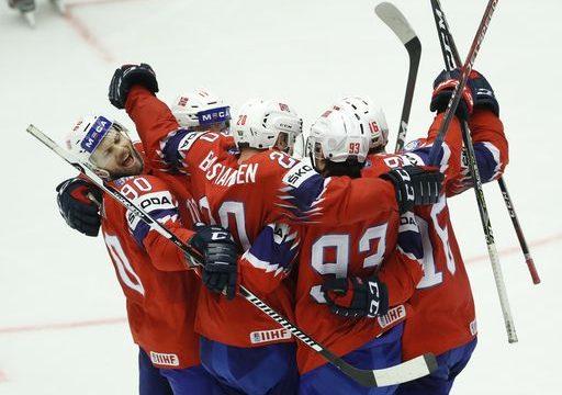 Canada beats Latvia in OT, Czechs edge Austria at ice hockey
