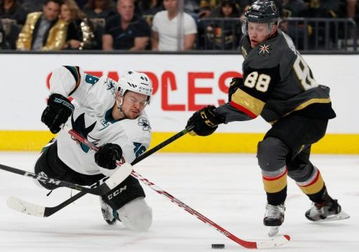 Expansion Golden Knights face Sharks in 2nd round series