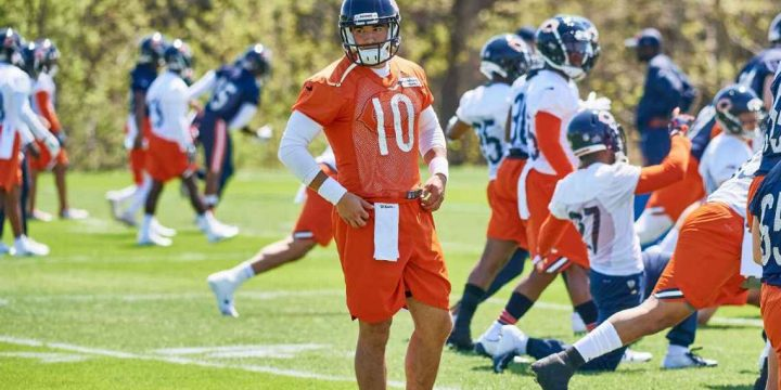 Mitchell Trubisky draws on offseason experience to master offense