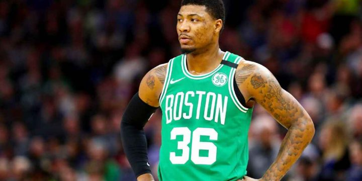 Celtics' Marcus Smart says 'my heart's here' in Boston