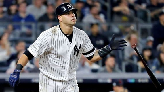 Yanks put Gary Sanchez on DL with groin injury, likely out 3-4 weeks