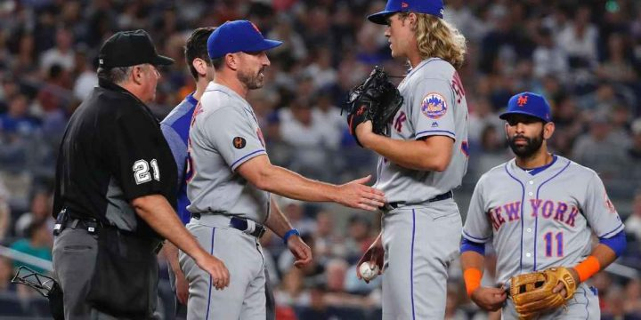 Noah Syndergaard DL-bound after contracting hand, foot and mouth disease