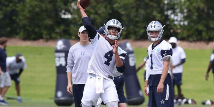 Dak Prescott hopes a change in mechanics yields results