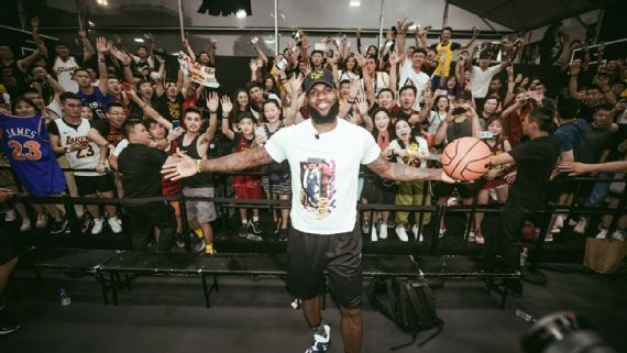In welcoming King James, China's Lakers fans have a choice to make