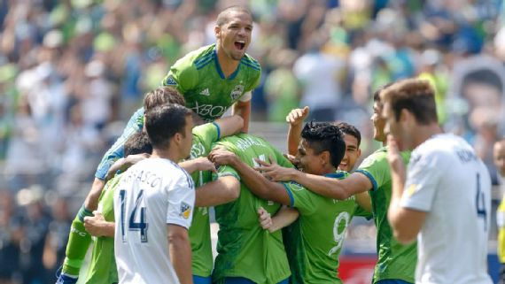 Five-star Sounders dominate depleted LA Galaxy for 6th straight win