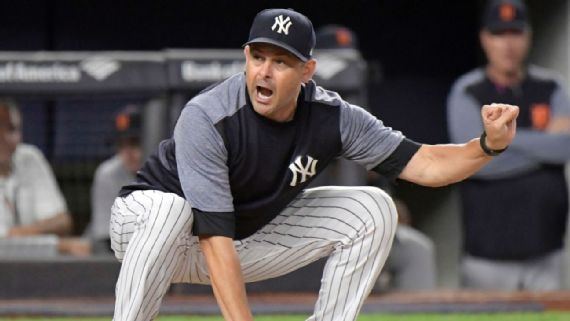 Yanks' Luke Voit on Aaron Boone ejection: 'All of us respected that'