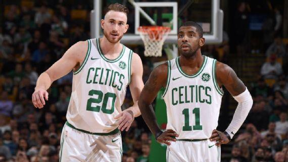 Kyrie Irving, Gordon Hayward ready to finally share court with Boston Celtics