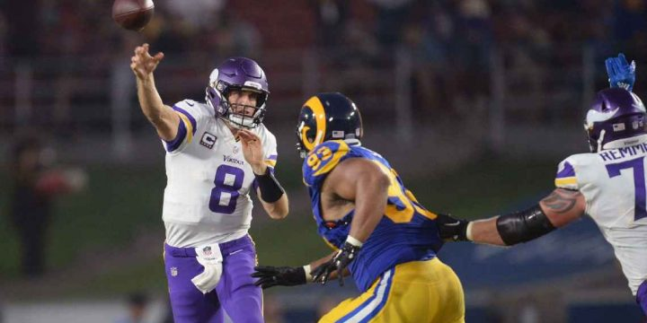 Run game woes forcing Vikings to lean on Kirk Cousins' arm