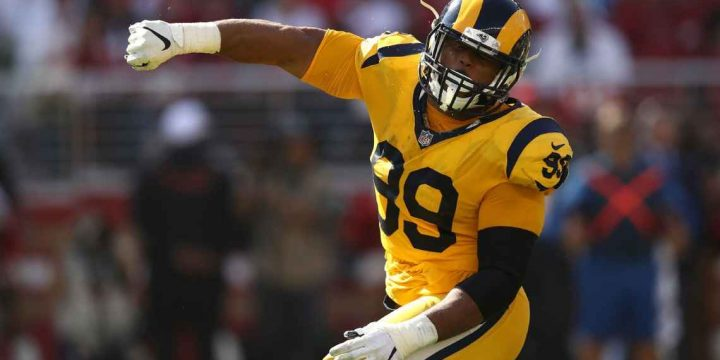 Seven sacks, four turnovers: Rams defense unleashes complete domination of 49ers