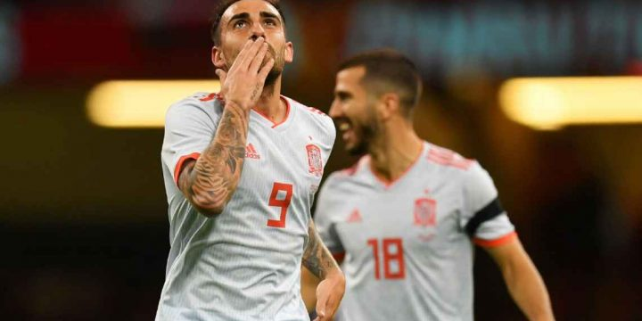 Super-sub Paco Alcacer can't stop scoring for Borussia Dortmund and Spain