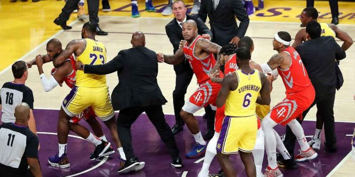 Rockets' Carmelo Anthony remembers 2006 NBA fight