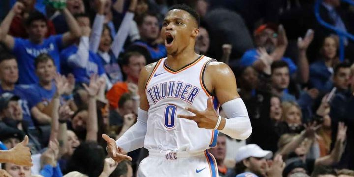 Thunder benefiting from Russell Westbrook doing it all instead of everything