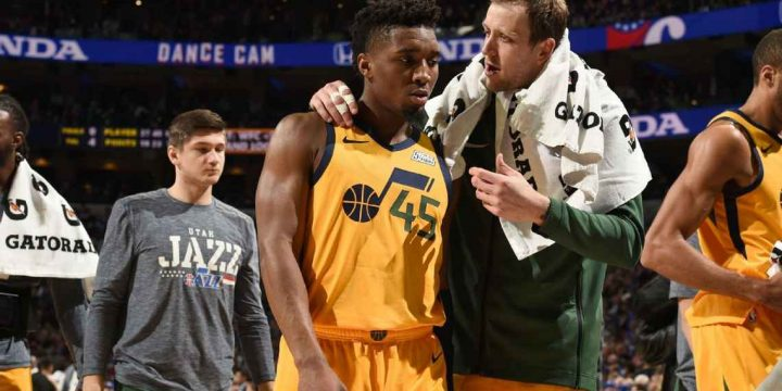 Jazz's Donovan Mitchell on rough night: 'I've got to be smart'