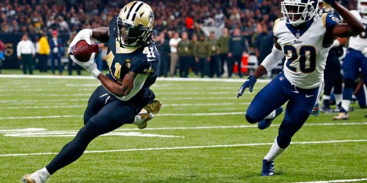 Alvin Kamara gives inspired performance after friend's death