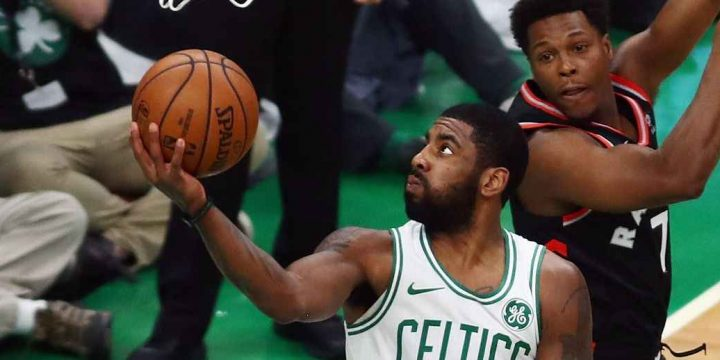 Kyrie Irving erupts for 43, says Celts need 'aggressive' mindset
