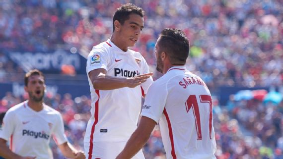 Often overlooked Ben Yedder, Sarabia can no longer be ignored at title-chasing Sevilla