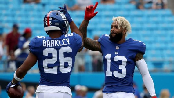 Saquon Barkley first Giants rookie RB in Pro Bowl since 1965