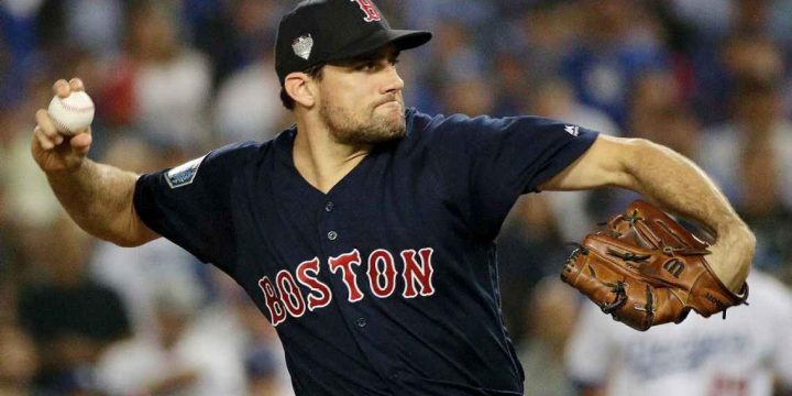 Playoff hero Nathan Eovaldi signs four-year, $68M deal with Red Sox