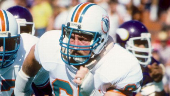 Bob Kuechenberg, part of Dolphins' 1972 perfect season, dies at 71
