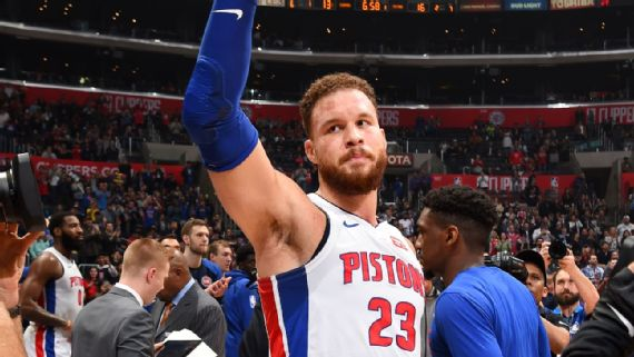 Pistons' Blake Griffin scores 44 vs. Clippers, says he didn't snub owner Steve Ballmer