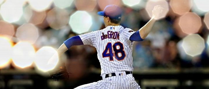 Jacob DeGrom makes spring debut for Mets, clocks 97 on fastball