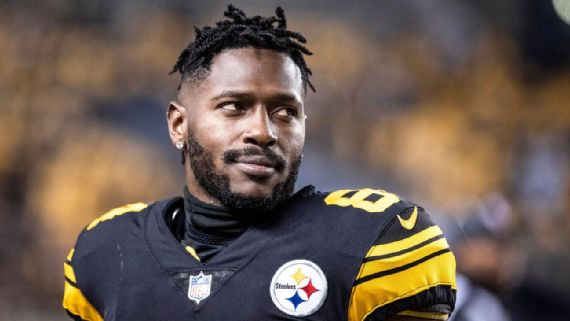 How it has gone wrong with Antonio Brown and the Steelers