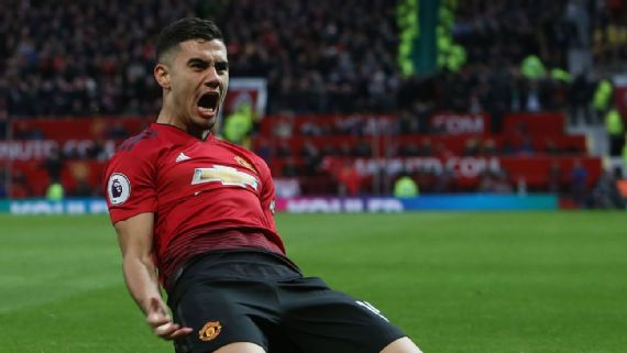Andreas Pereira's confidence grows as he gets his chance at Man United
