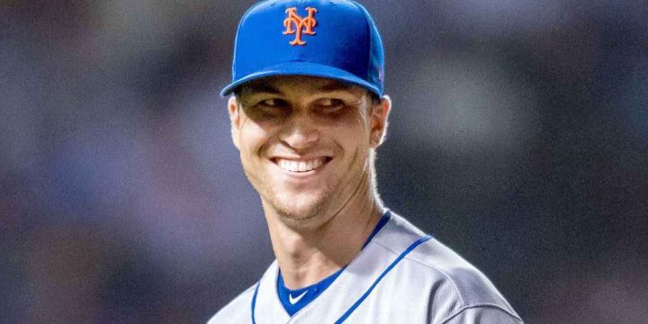Ace deGrom signs 5-year extension with Mets