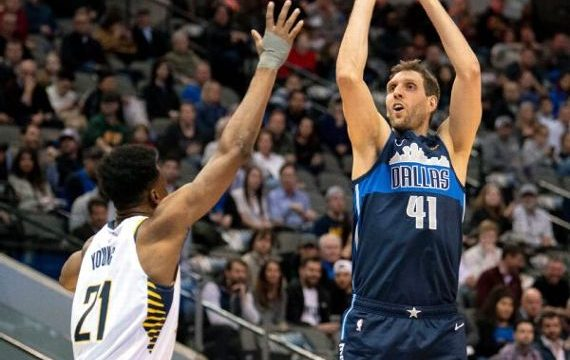 Starting again, Dirk still pondering one more year
