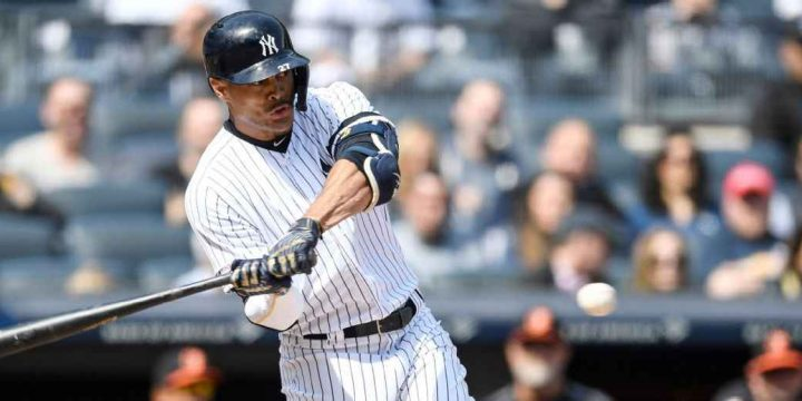 Yankees place Stanton (biceps strain) on IL
