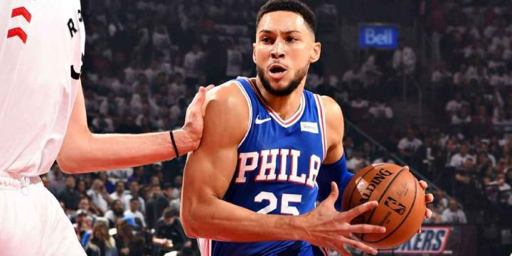 Simmons fined $20K for elbow to groin of Lowry