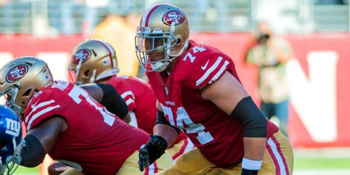 Niners announce 2-year extension for OT Staley