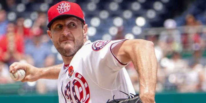 Scherzer out of All-Star Game with back injury