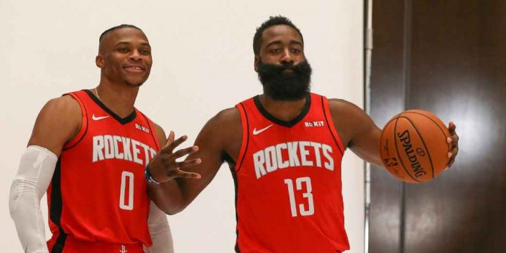 Russell Westbrook calls James Harden pairing 'scary' for rest of NBA