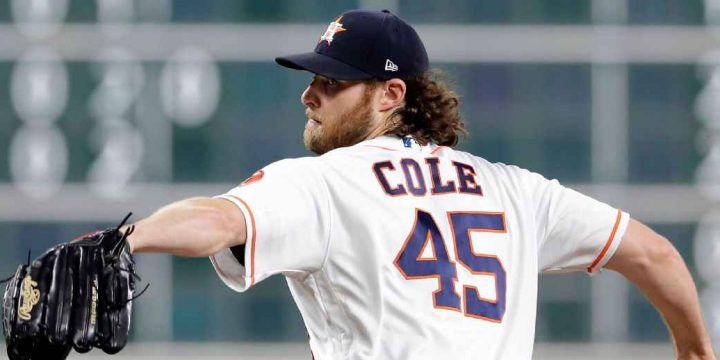 Cole 18th in MLB history with 300 K's in season