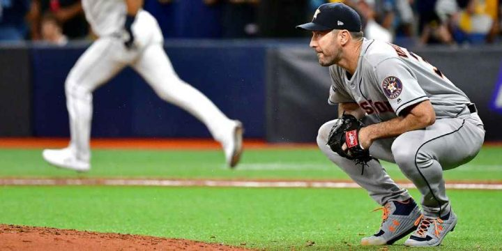Rays chase Astros' Justin Verlander early en route to evening ALDS