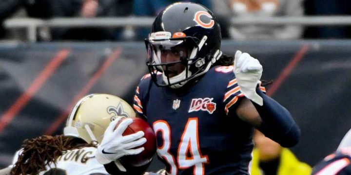 Cordarrelle Patterson races 102 yards for first Bears kickoff TD return since 2014