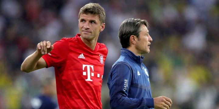 Bayern's Niko Kovac: My Thomas Muller comments were a 'mistake'