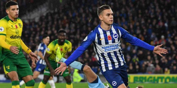 Leandro Trossard and Shane Duffy earn patient Brighton win over Norwich