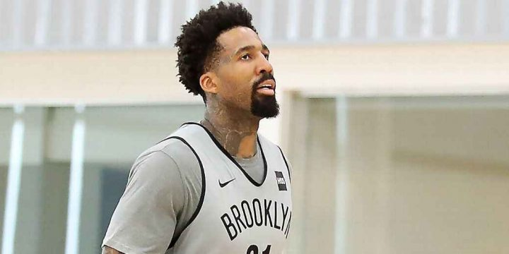 While Brooklyn battles, suspended Wilson Chandler watches and waits