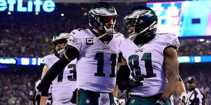 Carson Wentz-led Eagles overcome rash of injuries to capture NFC East