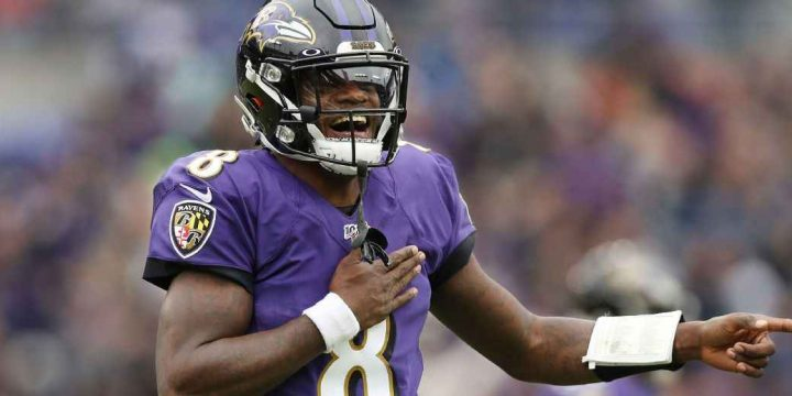Ravens QB Lamar Jackson tops fan vote for Pro Bowl